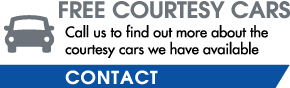 Free Courtesy Cars | Call us to find out more about the courtesy cars we have available - Contact